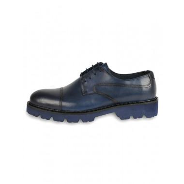 Туфли  Alba синие МТ0033